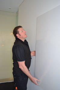 Office handyman, whiteboard