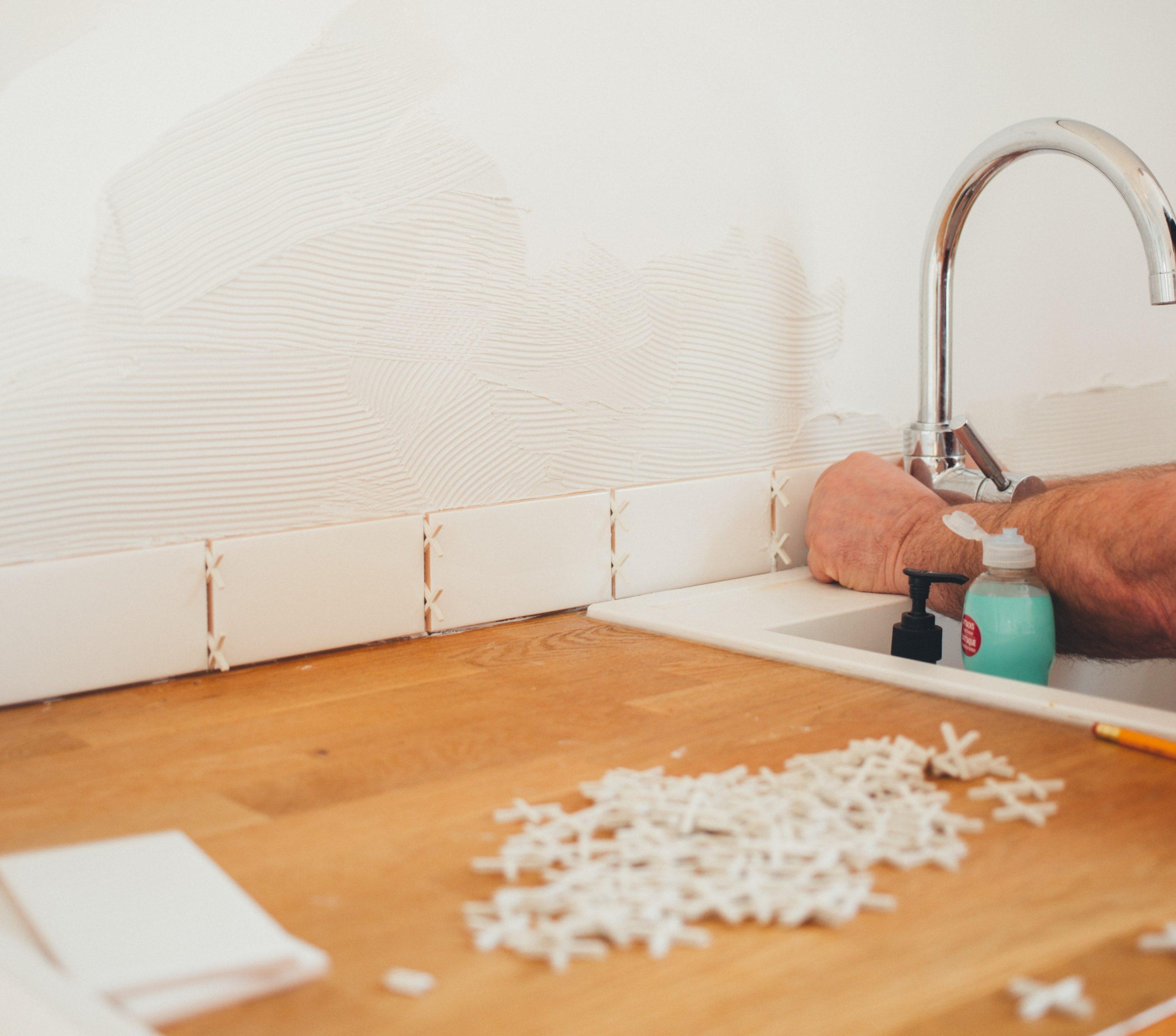 Tiling, tile repairs